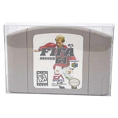 Games-2 (0,20mm) Caixa Protetora para Cartucho Loose Nintendo64 N64 10unid