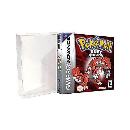 Games-8 (0,30mm) Caixa Protetora para CaixaBox Case Game Boy, Game Boy Color e Game Boy Advance 10unid