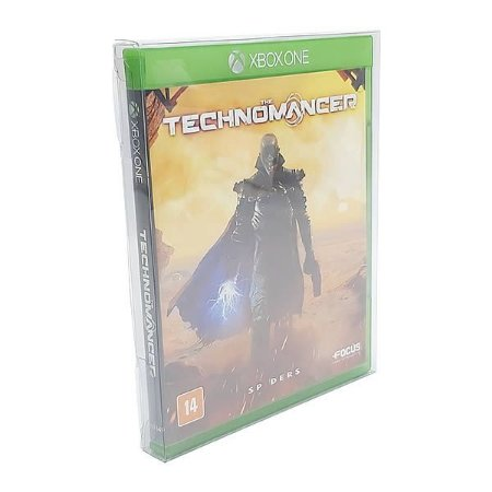 Games-21 (0,20mm) Caixa Protetora para Blu-Ray, Playstation 3/4, Xbox One 10unid
