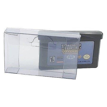 Games-28 (0,20mm) Caixa Protetora para Cartucho Loose Game Boy Advance 10unid