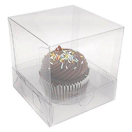 Caixa para 1 Cupcake Grande (7,5x7,5x7,5 cm) KIT20 10unid