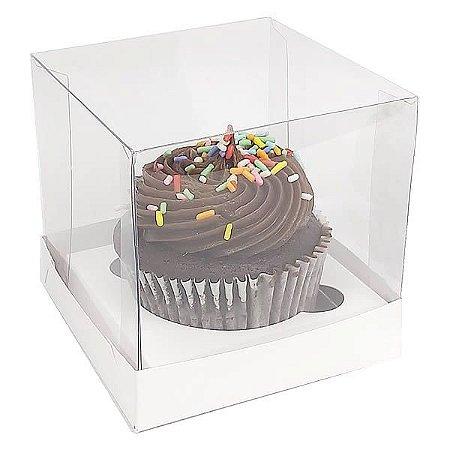 Caixa para 1 Cupcake Grande (7,5x7,5x7,5 cm) KIT10 10unid
