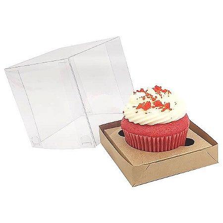 Caixa para 1 Cupcake Grande (7,5x7,5x7,5 cm) KIT49 10unid
