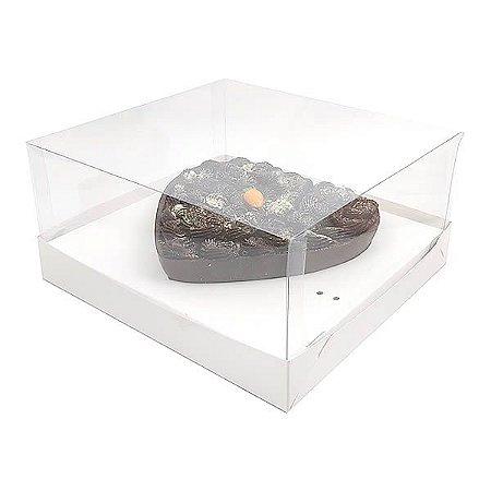 Caixa Coração 500g para Forma 46 BWB (19x17,5x9 cm) KIT58 10unid