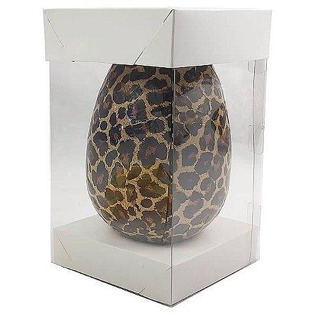 Caixa Ovo de Páscoa 500g (12,2x12,2x22 cm) KIT46 Embalagem Ovo de Chocolate 10unids