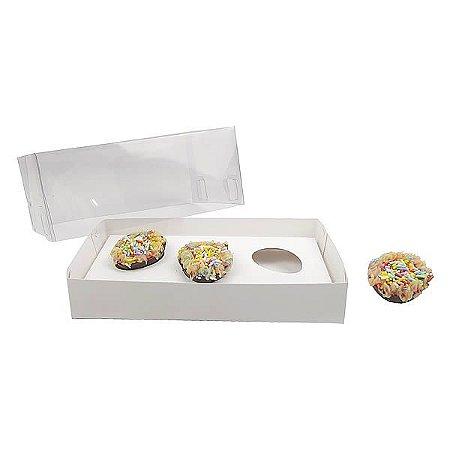 Caixa Ovo de Páscoa 30g (17,6x11x7 cm) KIT60 Embalagem Ovo de Colher 10unids