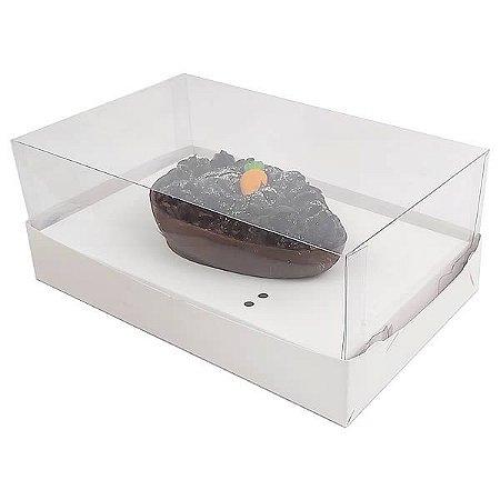 Caixa Ovo de Colher Páscoa 100g (17,6x11x9 cm) KIT70 Embalagem Ovo de Colher 10unids
