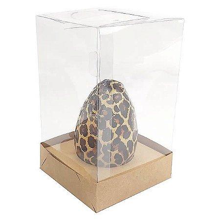 Caixa Ovo de Colher Páscoa 100g e 150g (10x10x16,9 cm) KIT83 Embalagem Ovo de Colher 10unids