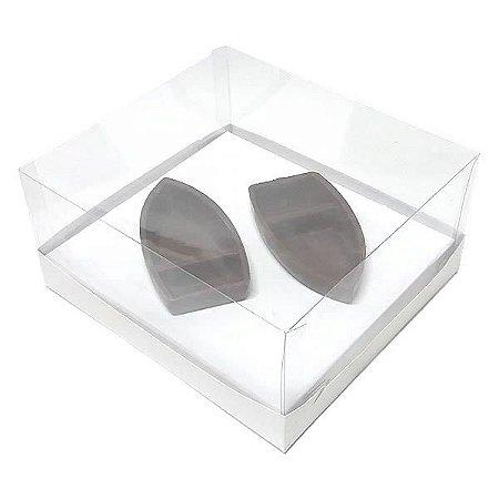 Caixa para Barca M Chocolate (19x17,5x9 cm) KIT94 10unids Caixa de Acetato