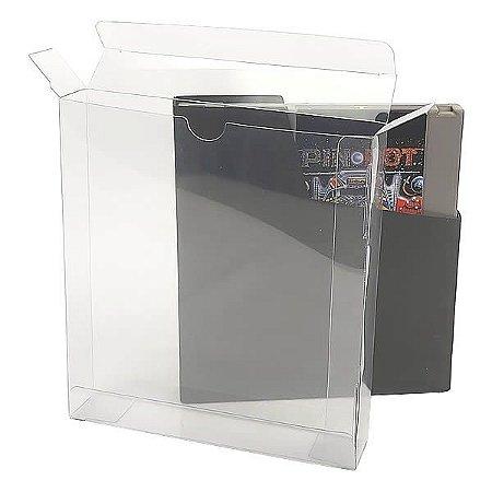 Games-33 (0,20mm) Caixa Protetora para Cartucho Loose Nintendinho 72pinos Nes aclopado com Sleeve 10unid