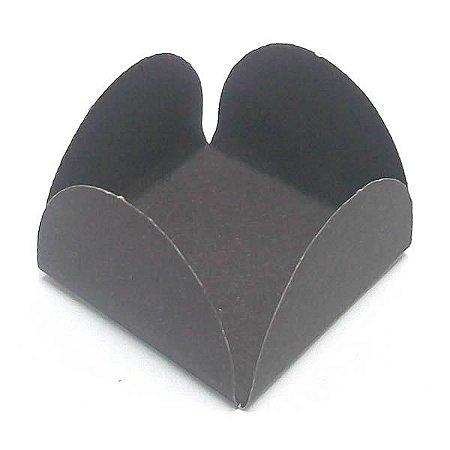 Forminha de Papel Preta (3.5x3.5x2.5 cm) 100unid Brigadeiros