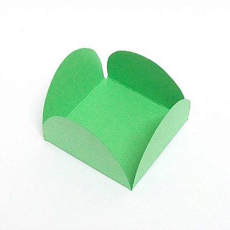 Forminha de Papel Verde Claro (3.5x3.5x2.5 cm) 100unid Brigadeiros