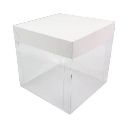 PMB-515 Branca (15x15x15 cm) 10unid Caixa para Mini Bolo e Artesanatos