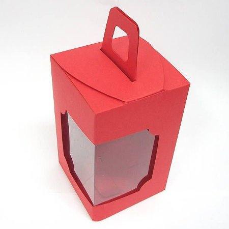 DV-12 Lisa Vermelha (6x6x10 cm) 10unid
