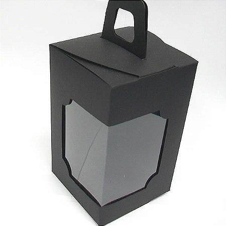 DV-12 Lisa Preta (6x6x10 cm) 10unid