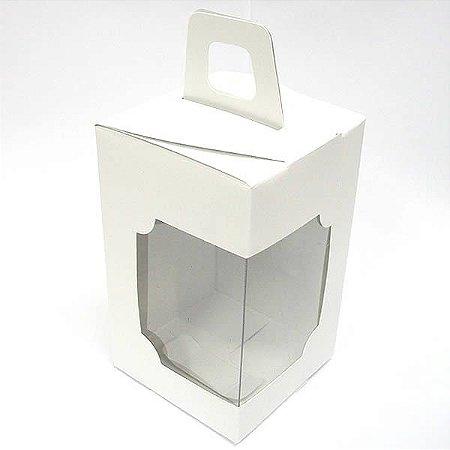 DV-12 Lisa Branca (6x6x10 cm) 10unid Caixa Janelar