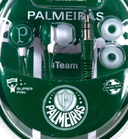 Fone De Ouvido Waldman Palmeiras Rf Sb-10pal - LEIA A DESCRIÇÃO ABAIXO COM ATENÇÃO! - Finalize a compra por meio do link.