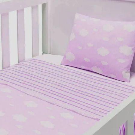 Jogo de Lençol para Berço Americano Baby Joy 04121204010001 -03 PÇS