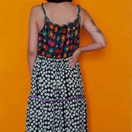Vestido Margarida Alças