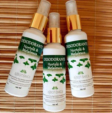 Desodorante de Hortelã com Melaleuca