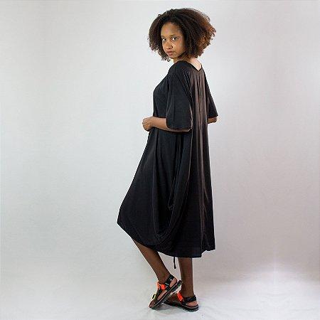 Vestido pipa Preto