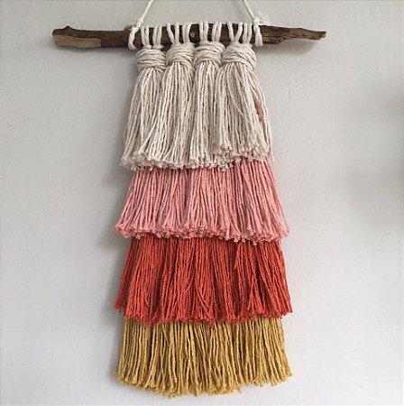 Tapeçaria franjas color