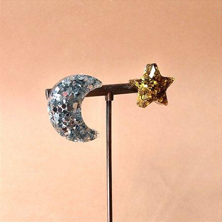 Brinco Lua-Estrela