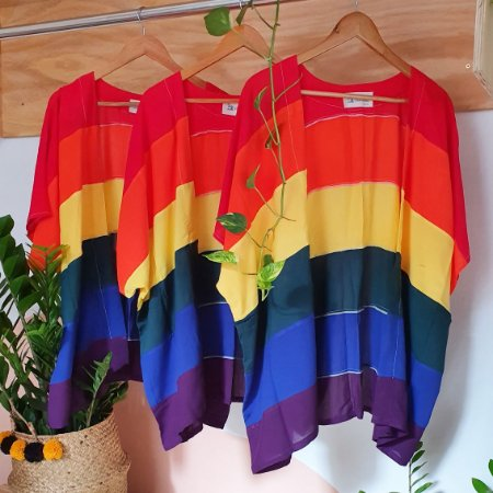 Kimono arco-íris