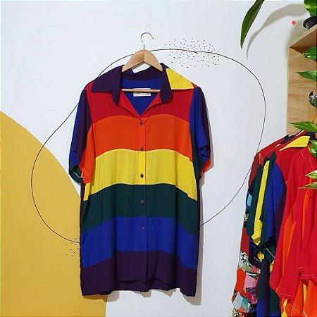 Camisa arco-íris