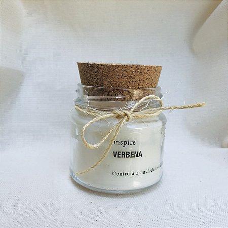 Vela perfumada Verbena com tampa de cortiça P
