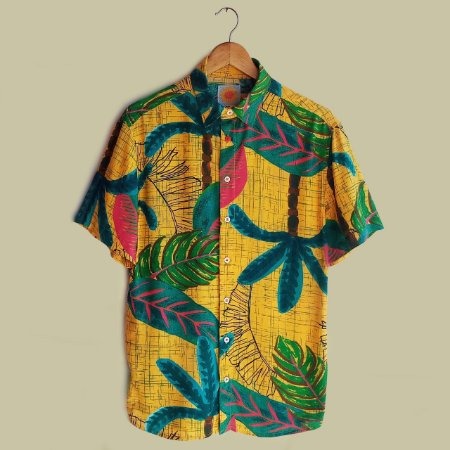 Camisa Flor Amarílis