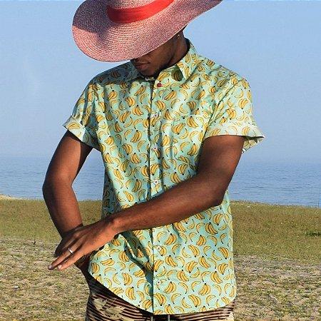Camisa Flor de Bananeira