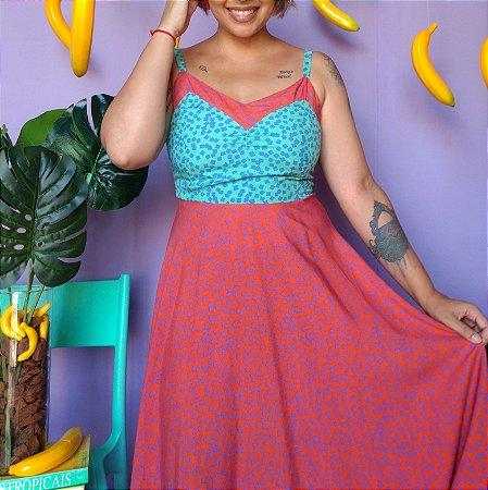 Vestido Azulejos