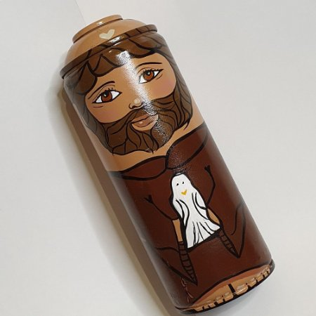 Santo de Lata - São Francisco de Assis