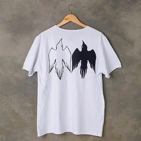 Camiseta Corvos de Odin (branca)