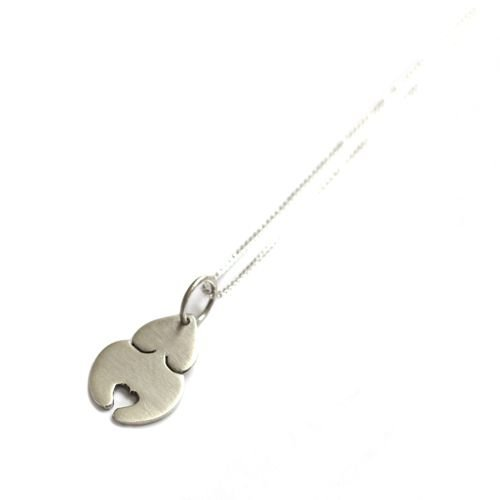 Colar Amuleto Pingente em Prata Deusa Mãe