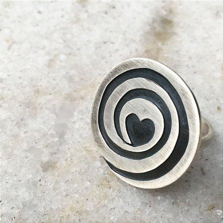 Anel Espiral do Amor