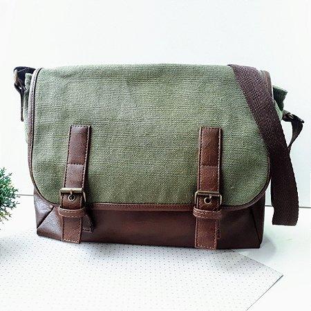 Bolsa Carteiro Green