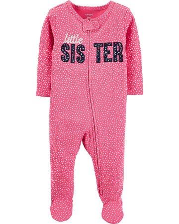 Pijama Carter's Romper Baby Little Sister Ref. 19599210