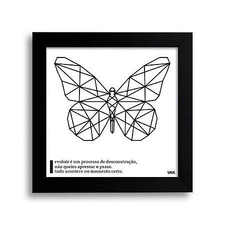 Placa Decorativa Borboleta