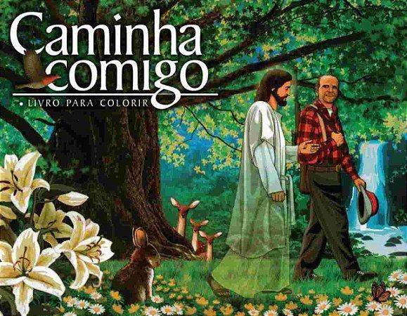 Livro - Caminha Comigo - Livro de Colorir