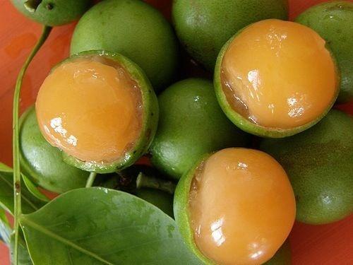 Quenepa de frutos Grandes