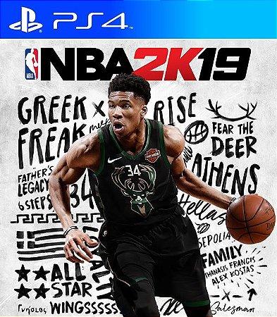 NBA 2K19 - PS4 PSN Mídia Digital