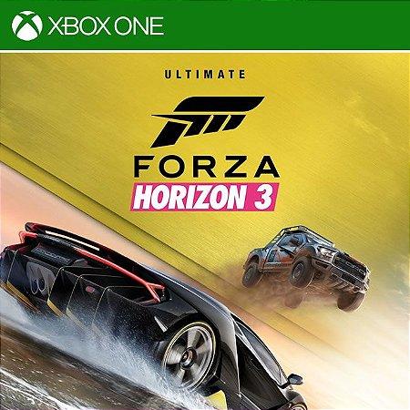 Forza Horizon 3 Ultimate - Xbox One Mídia Digital