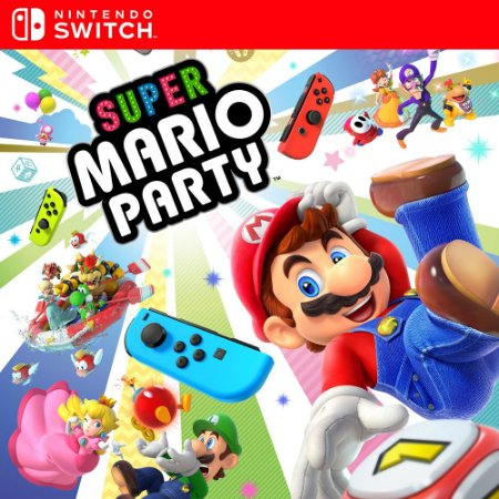 Super Mario Party - Nintendo Switch Mídia Digital