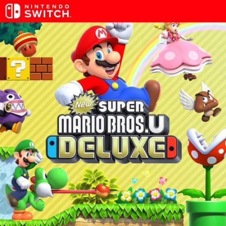 New Super Mario Bros. U Deluxe - Nintendo Switch Mídia Digital