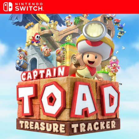 Captain Toad: Treasure Tracker - Nintendo Switch Mídia Digital