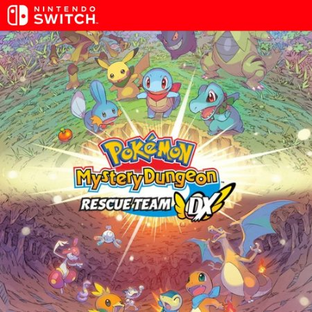 Pokémon Mystery Dungeon - Nintendo Switch Mídia Digital