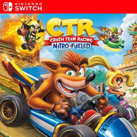 Crash Team Racing Nitro-Fueled - Nintendo Switch Mídia Digital