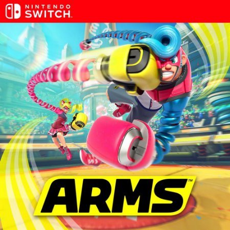 ARMS - Nintendo Switch Mídia Digital